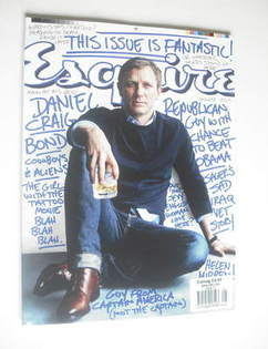 Esquire magazine - Daniel Craig cover (August 2011 - US Edition)