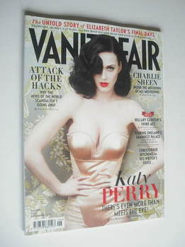 <!--2011-06-->Vanity Fair magazine - Katy Perry cover (June 2011)