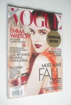 US Vogue magazine - July 2011 - Emma Watson cover