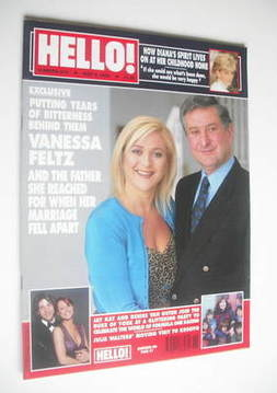 <!--2000-05-09-->Hello! magazine - Vanessa Feltz cover (9 May 2000 - Issue