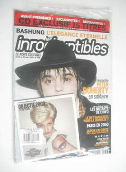 Les Inrockuptibles magazine - Pete Doherty cover (24-30 March 2009)