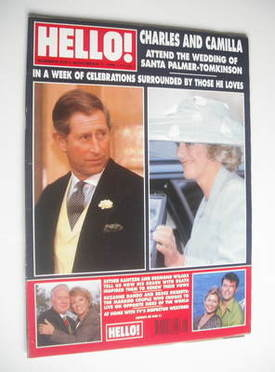 <!--1998-11-07-->Hello! magazine - Prince Charles and Camilla cover (7 Nove
