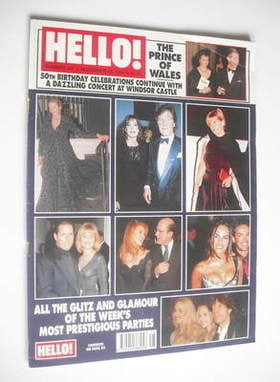<!--1998-11-28-->Hello! magazine - Prince Charles 50th birthday celebration