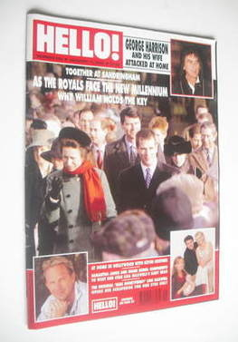 <!--2000-01-11-->Hello! magazine - The Royals cover (11 January 2000 - Issu