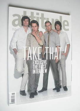 <!--2006-11-->Attitude magazine - Take That cover (November 2006)