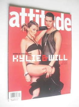 <!--2002-12-->Attitude magazine - Kylie Minogue and William Baker cover (De