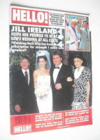 <!--1990-05-19-->Hello! magazine - Paul McCallum wedding cover (19 May 1990 - Issue 103)