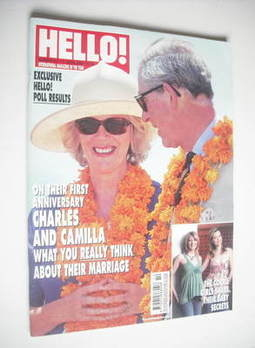 <!--2006-04-11-->Hello! magazine - Prince Charles and Camilla cover (11 Apr