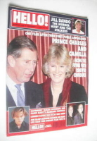 <!--2000-02-01-->Hello! magazine - Prince Charles and Camilla cover (1 February 2000 - Issue 596)