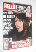 <!--2002-07-02-->Hello! magazine - Elizabeth Hurley cover (2 July 2002 - Issue 720)