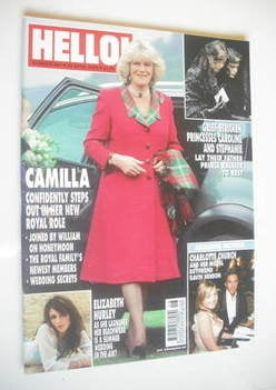 <!--2005-04-28-->Hello! magazine - Camilla Parker Bowles cover (28 April 20