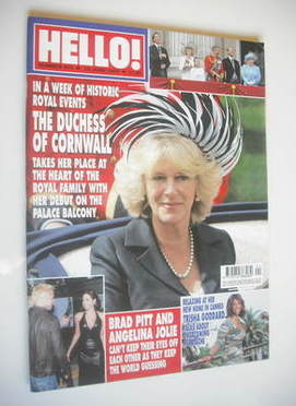 <!--2005-06-23-->Hello! magazine - The Duchess of Cornwall cover (23 June 2