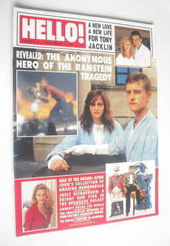 <!--1988-09-17-->Hello! magazine - Sgt Jeffrey McConch cover (17 September