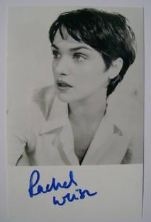 Rachel Weisz autograph