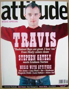 <!--2000-06-->Attitude magazine - Fran Healy cover (June 2000 - Issue 74)