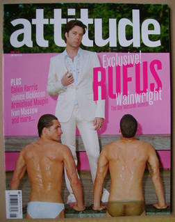 <!--2007-06-->Attitude magazine - Rufus Wainwright cover (June 2007 - Issue