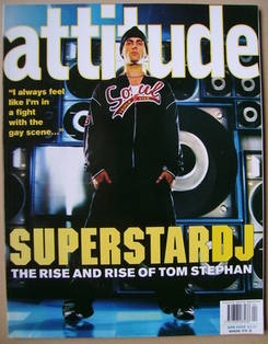<!--2002-04-->Attitude magazine - Tom Stephan cover (April 2002 - Issue 96)