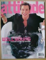 <!--2003-11-->Attitude magazine - Will Young cover (November 2003 - Issue 115)