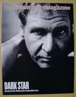 <!--2002-08-11-->The Sunday Times magazine - Harrison Ford cover (11 August