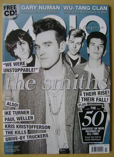 <!--2008-03-->MOJO magazine - The Smiths cover (March 2008 - Issue 172)