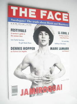 <!--1993-05-->The Face magazine - Jamiroquai cover (May 1993 - Volume 2 No.