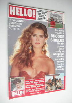 <!--1989-06-10-->Hello! magazine - Brooke Shields cover (10 June 1989 - Iss