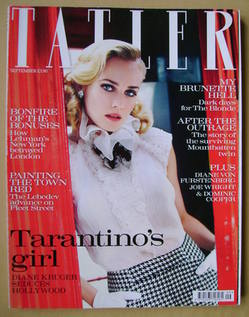 <!--2009-09-->Tatler magazine - September 2009 - Diane Kruger cover