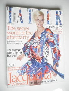 <!--2009-03-->Tatler magazine - March 2009 - Jacquetta Wheeler cover