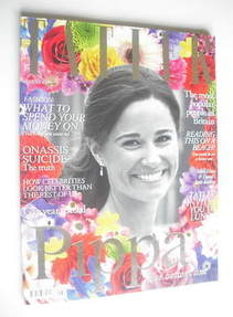 <!--2011-08-->Tatler magazine - August 2011 - Pippa Middleton cover