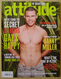 <!--2010-09-->Attitude magazine - Danny Miller cover (September 2010 - Issu