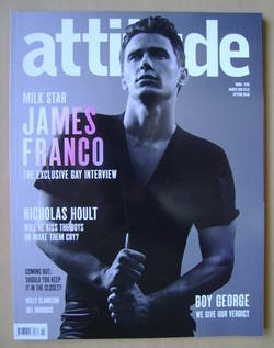 <!--2009-03-->Attitude magazine - James Franco cover (March 2009 - Issue 17