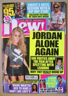 <!--2011-10-10-->New magazine - 10 October 2011 - Jordan cover