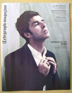<!--2011-10-15-->Telegraph magazine - Noel Gallagher cover (15 October 2011