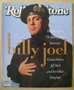 Rolling Stone magazine - Billy Joel cover (25 January 1990 - Issue 570)