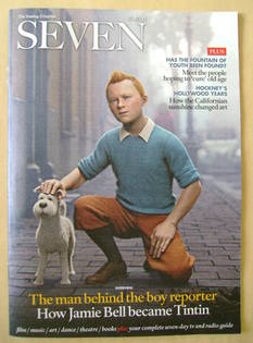 Seven magazine - Tintin cover (16 October 2011)