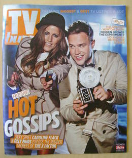 Buzz magazine - Caroline Flack and Olly Murs cover (15 October 2011)