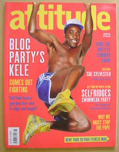 <!--2010-08-->Attitude magazine - Kele Okereke cover (Summer 2010 - Issue 1