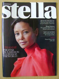 <!--2011-10-16-->Stella magazine - Thandie Newton cover (16 October 2011)