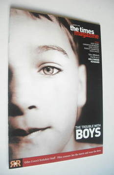 <!--2003-03-01-->The Times magazine - The Trouble With Boys cover (1 March