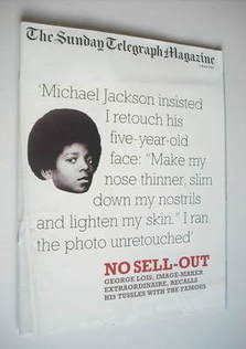 The Sunday Telegraph magazine - Michael Jackson cover (2 March 2003)
