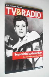 The Sunday Telegraph TV and Radio magazine (9-15 March 2003)