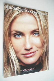 The Sunday Telegraph magazine - Cameron Diaz cover (5 January 2003)
