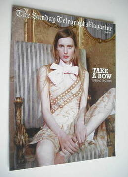 The Sunday Telegraph magazine - Spring Fashion cover (9 March 2003)