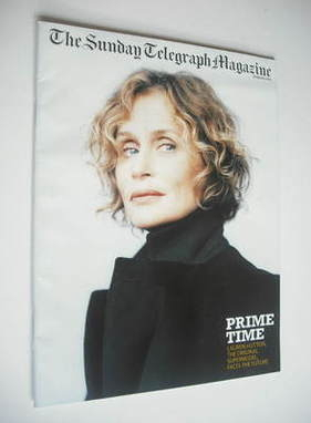 The Sunday Telegraph magazine - Lauren Hutton cover (16 March 2003)