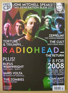 <!--2008-02-->MOJO magazine - Radiohead cover (February 2008 - Issue 171)