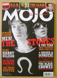 MOJO magazine - The Rolling Stones cover (April 2008 - Issue 173)