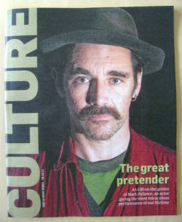 Culture magazine - Mark Rylance cover (16 October 2011)