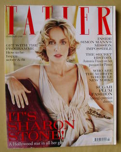 <!--2010-02-->Tatler magazine - February 2010 - Sharon Stone cover