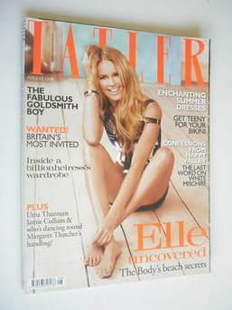 <!--2010-08-->Tatler magazine - August 2010 - Elle Macpherson cover