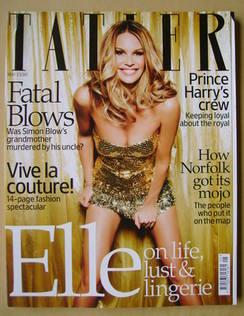 <!--2009-05-->Tatler magazine - May 2009 - Elle Macpherson cover